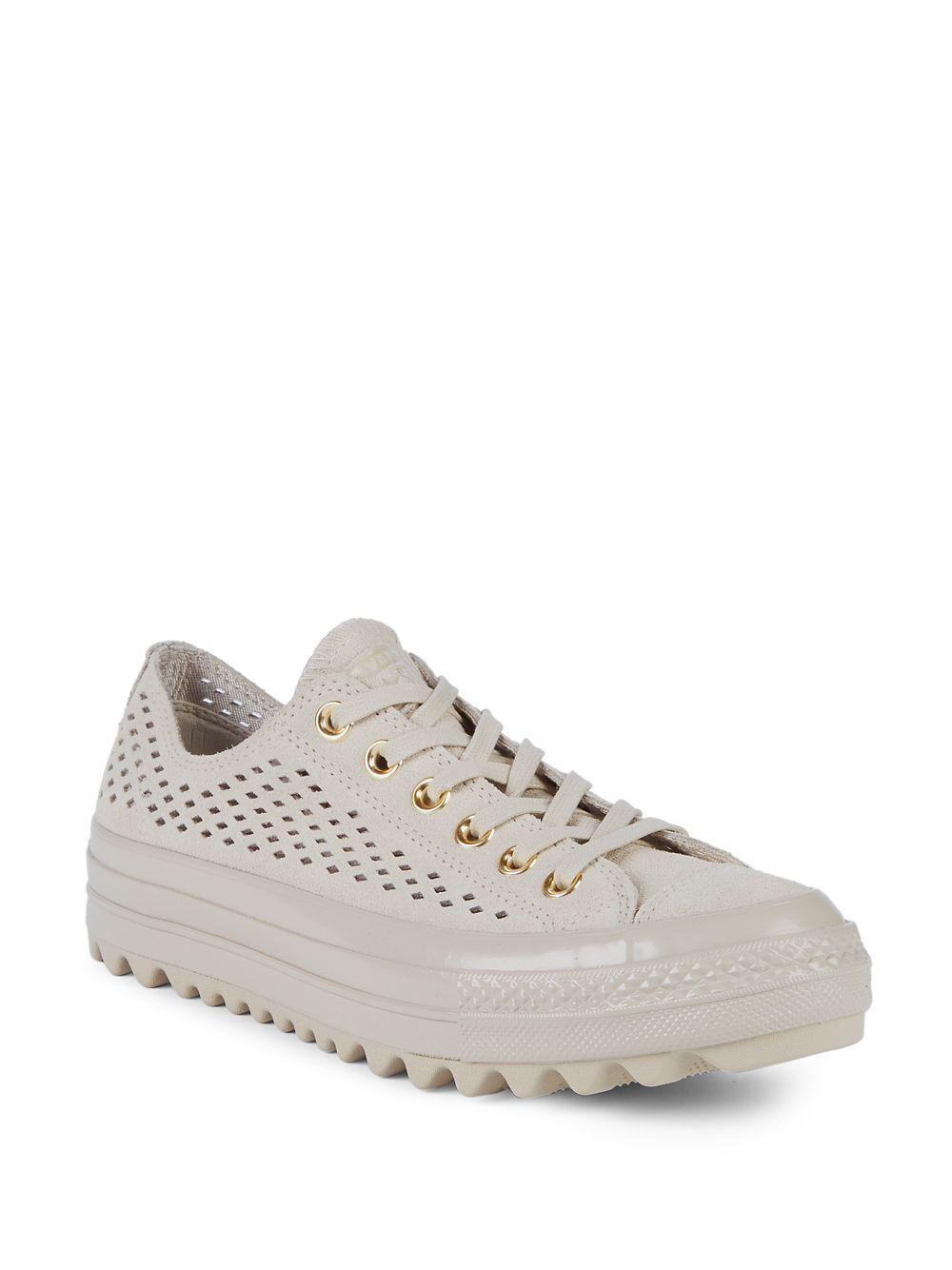 Converse Lift Ripple Ox Perforated Sneakers YywfJh