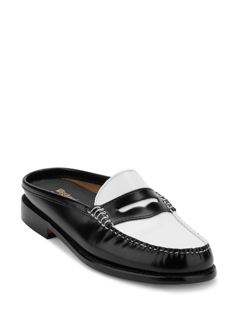 G.H. Bass & Co. Wynn Patent Leather Mule