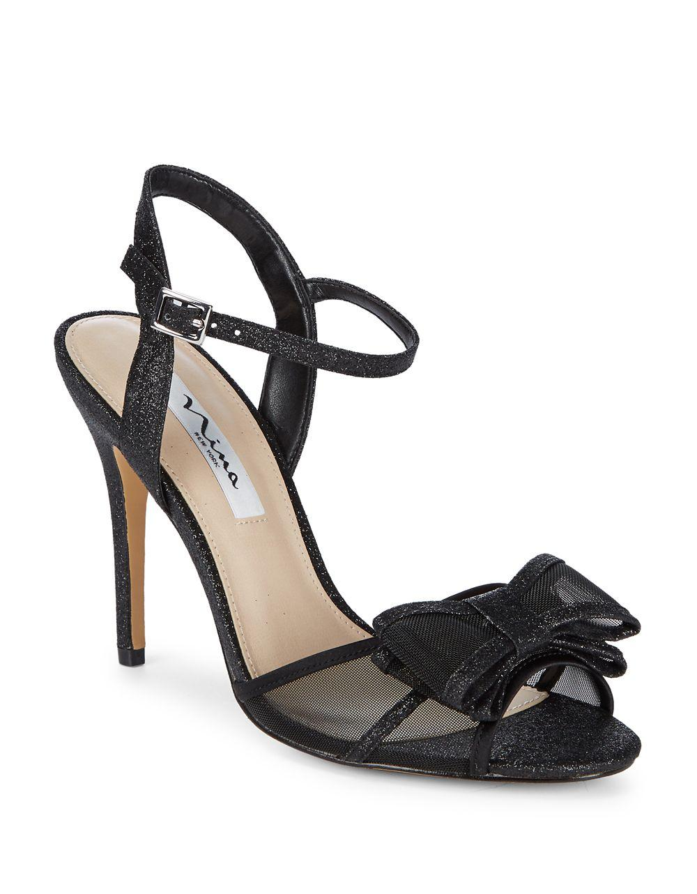 NINA Bow Stella Sandals best prices for cheap for sale clearance free shipping nnxXVMQSQ