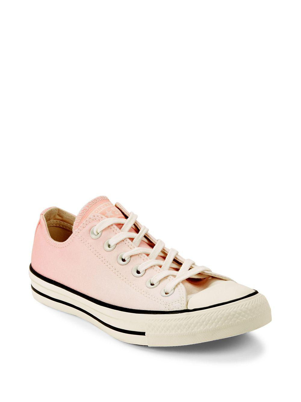 1da13bcfa2c3 Lyst - Converse All Star Ox Low-top Sneakers in Pink