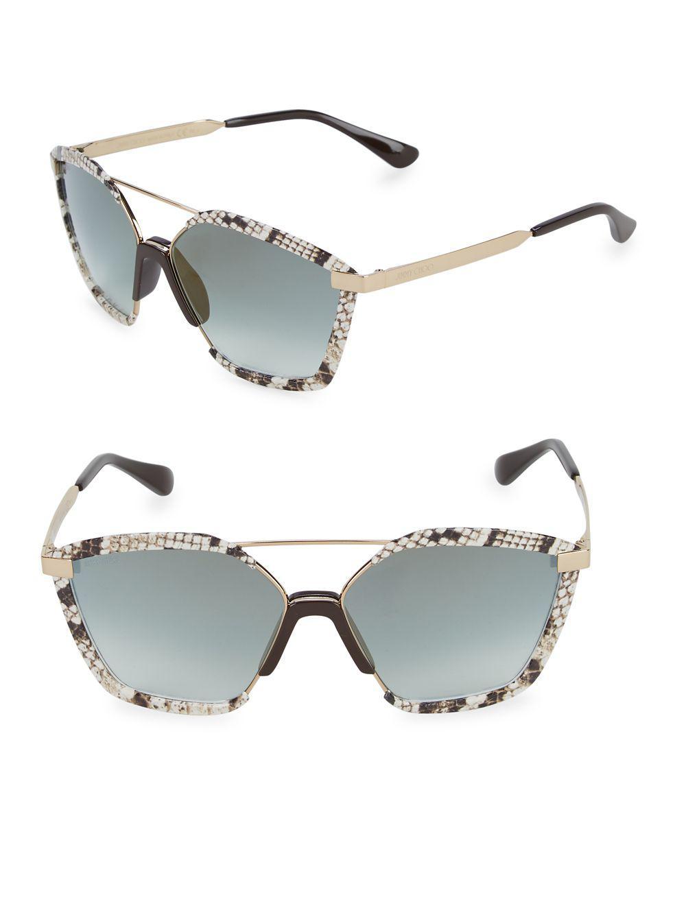 a43a5e6d442 Jimmy Choo. Women s 61mm Aviator Sunglasses