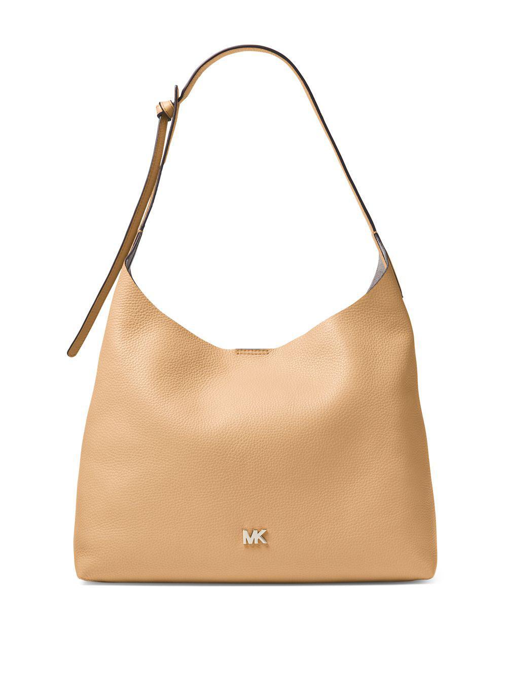 31efb05f250f Lyst - Michael Michael Kors Leather Hobo Bag in Brown