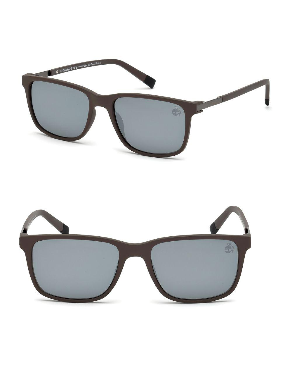 f621e271ef1 Lyst - Timberland Soft Square Sunglasses in Gray for Men
