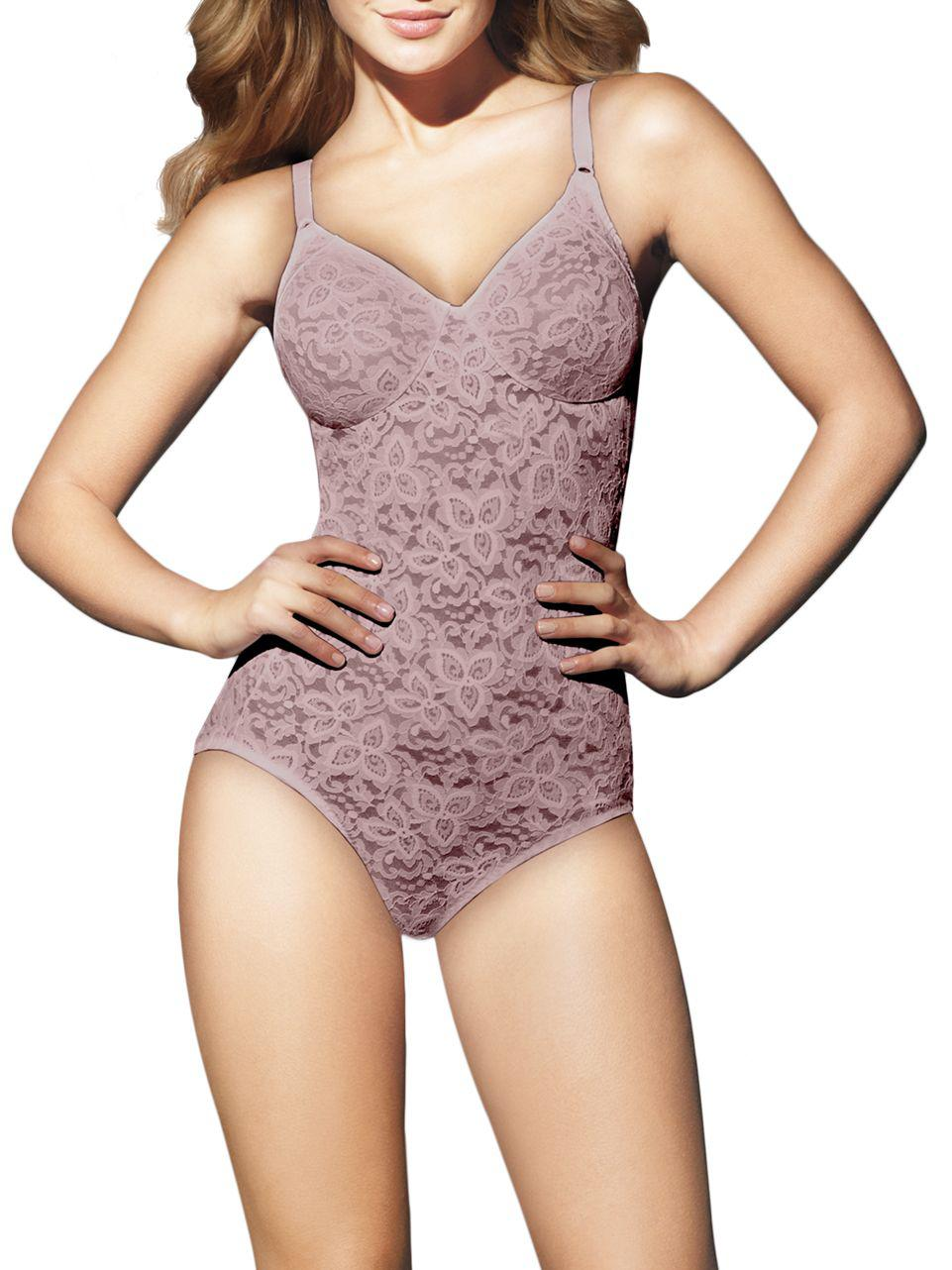 a441c8d70f1 Lyst - Bali Lace  n  Smooth Firm Control Bodybriefer in Purple