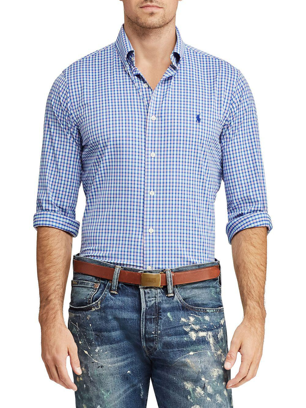 576d1269 Polo Ralph Lauren Classic-fit Oxford Button-down Shirt in Blue for ...