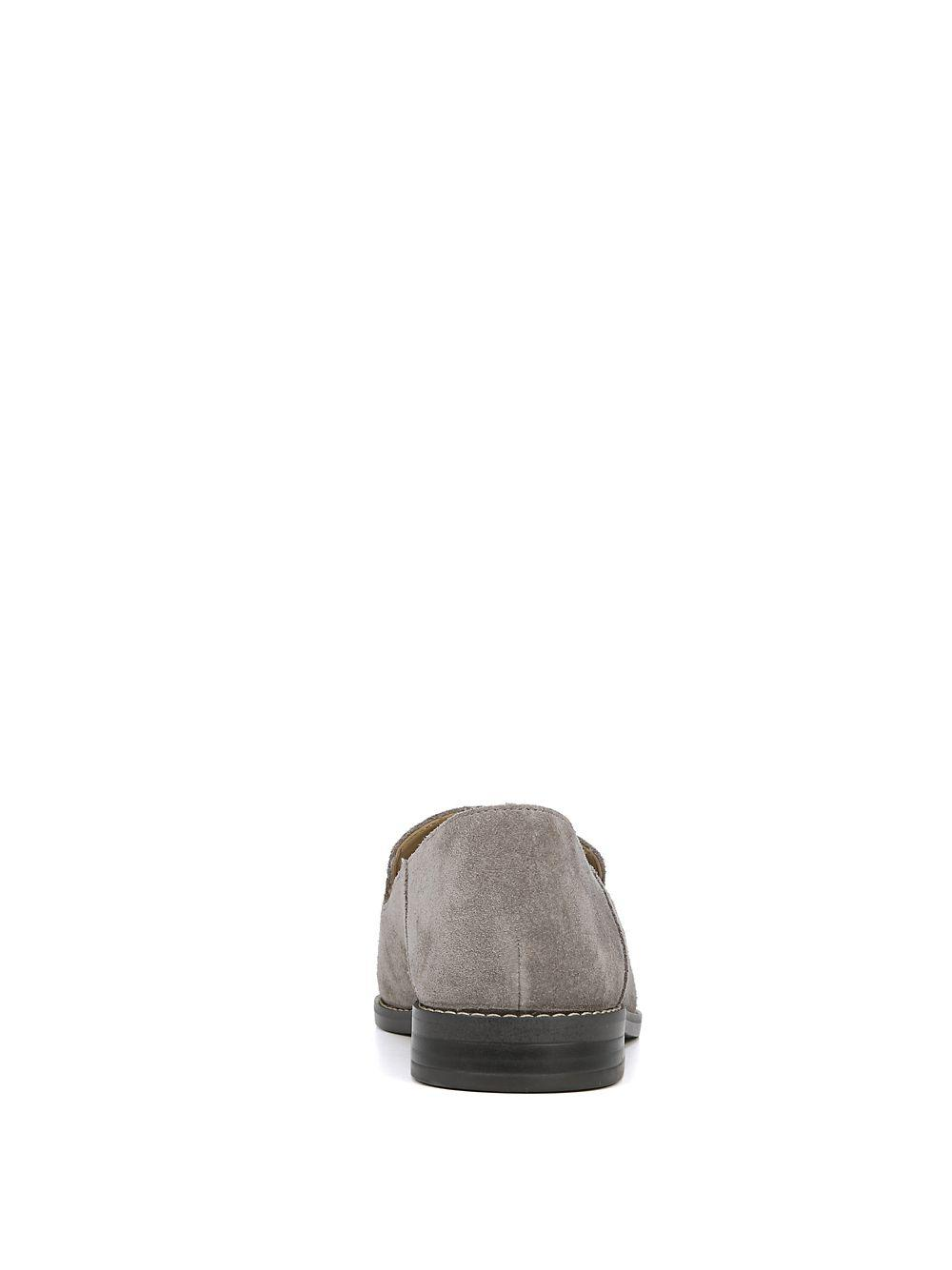 677c0213bf7 Lyst - Franco Sarto Hadden Suede Loafers in Gray - Save 12.359550561797747%