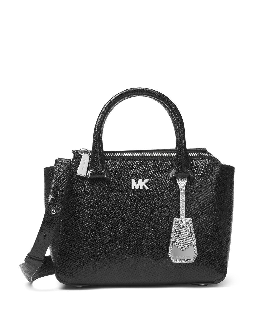 Michael Michael Kors Nolita Mini Messenger Bag in Black Leather d1mxY