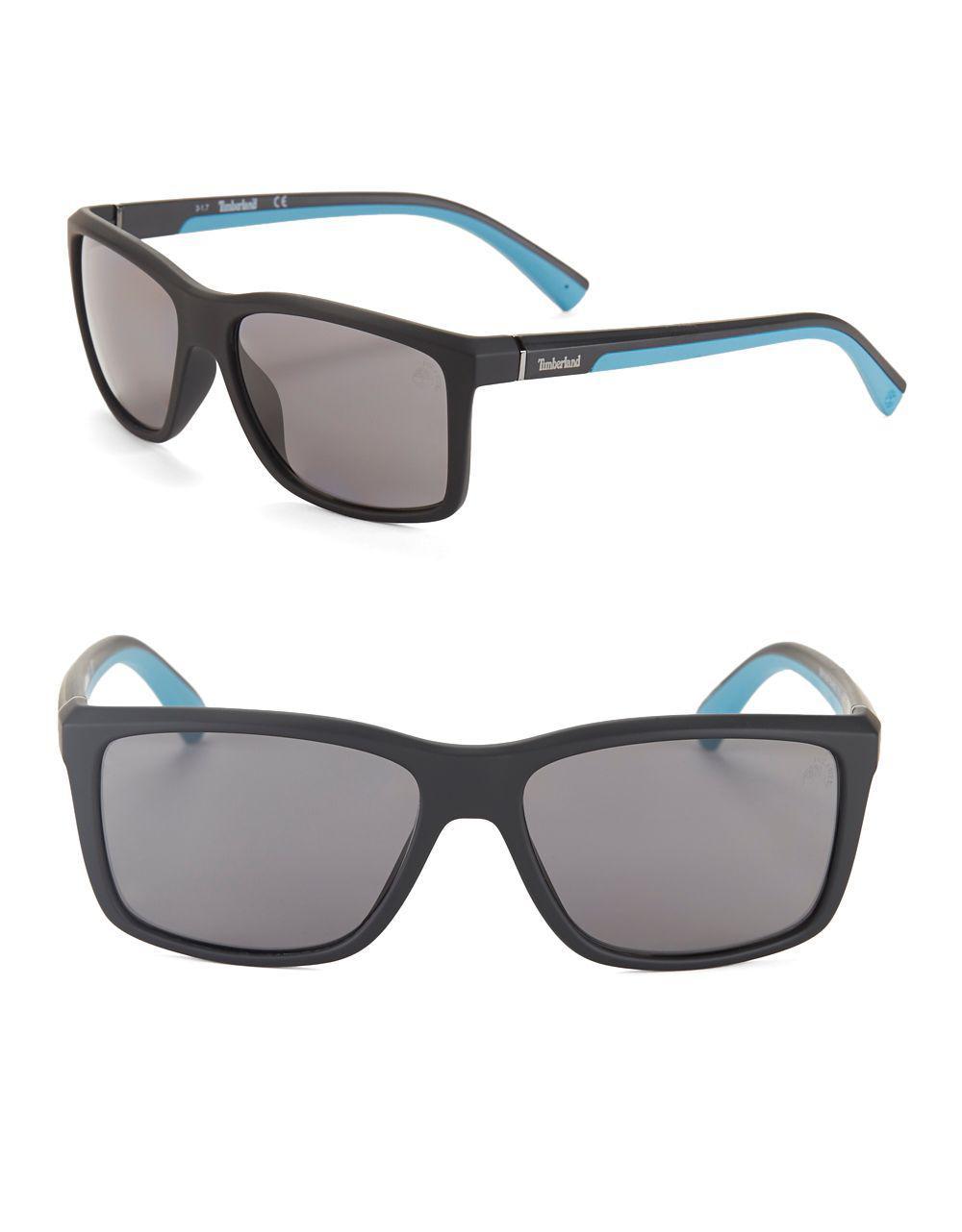 021c1bc3c28 Timberland - Black Marcolini Longarone 57mm Soft Square Sunglasses for Men  - Lyst. View fullscreen