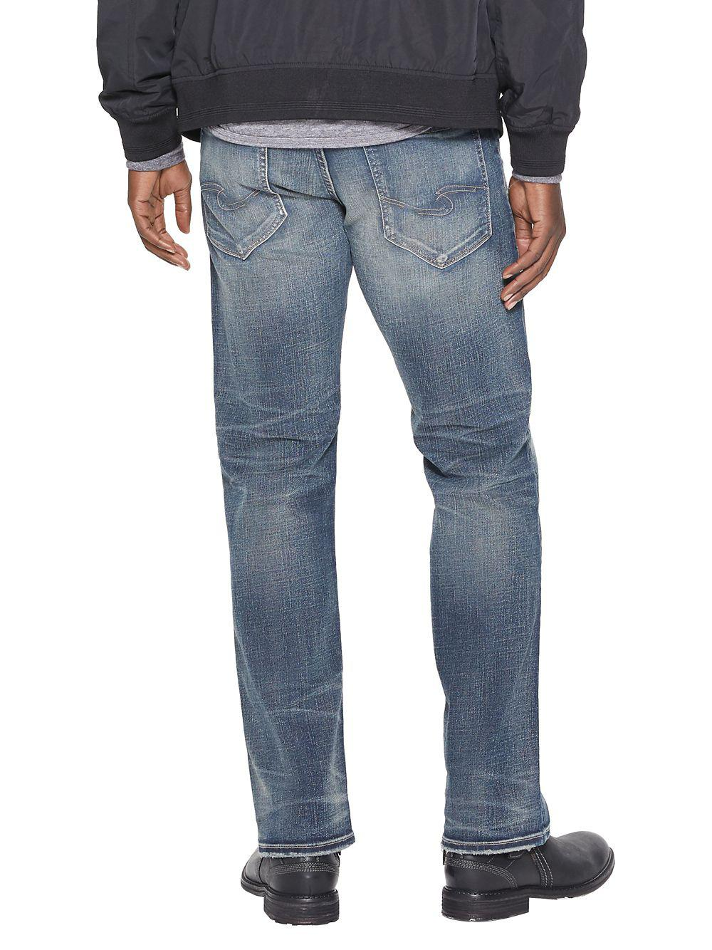 ba4ffd70 Lyst - Silver Jeans Co. Zac Relaxed-fit Straight-leg Jeans in Blue for Men