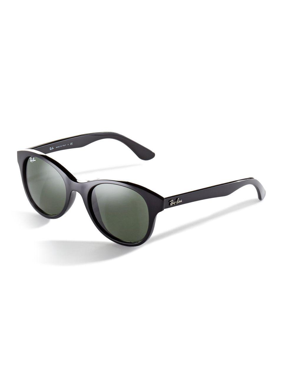 35b0d5a6b6 Lyst - Ray-Ban Rb4203 Wayfarer Sunglasses in Black
