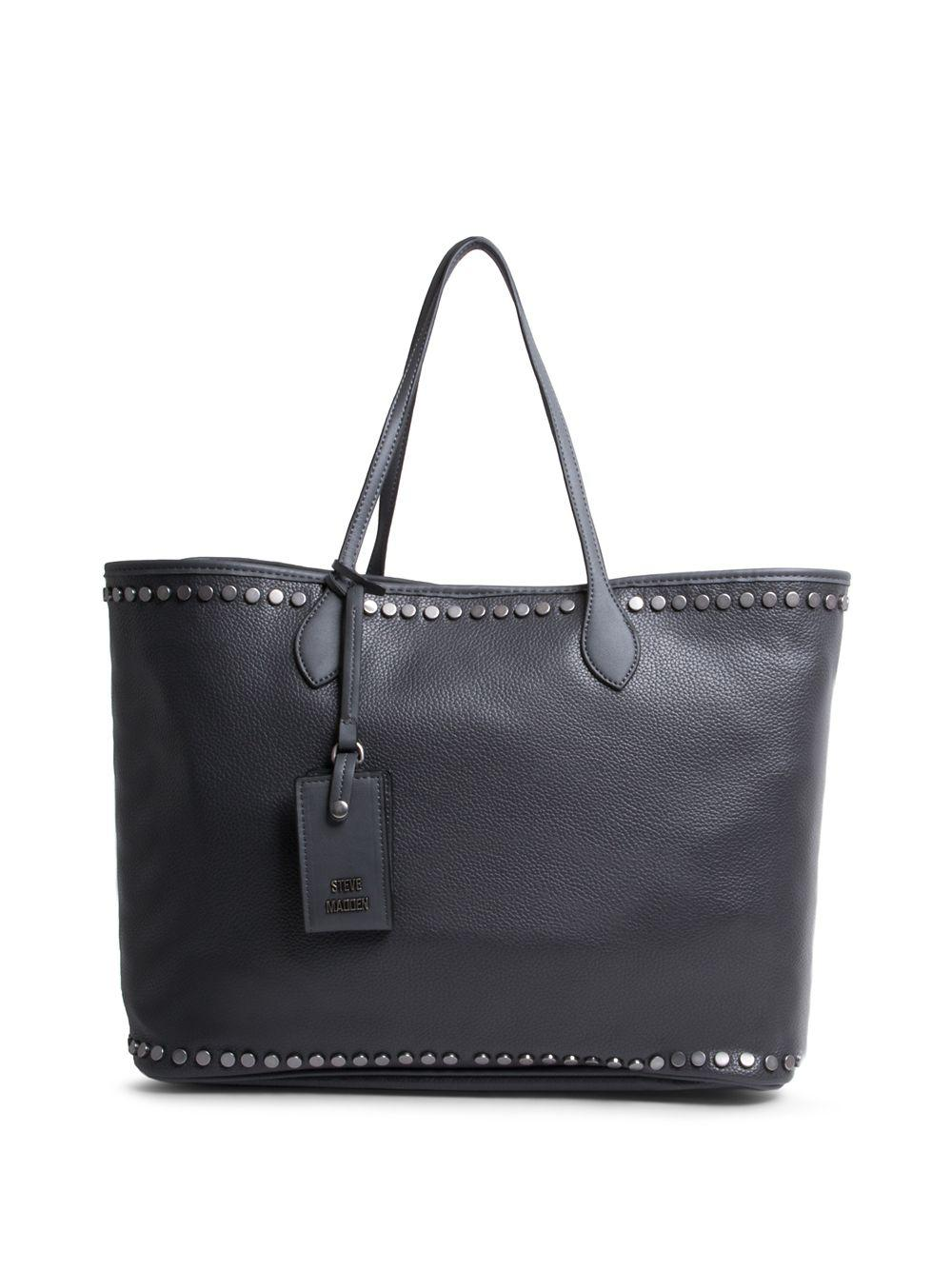 c01d32d3e5c Steve Madden Vivi Tote Bag in Black - Lyst