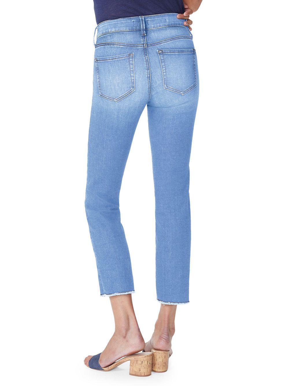 ce287e624c NYDJ - Blue Petite Sheri Ankle Jeans - Lyst. View fullscreen