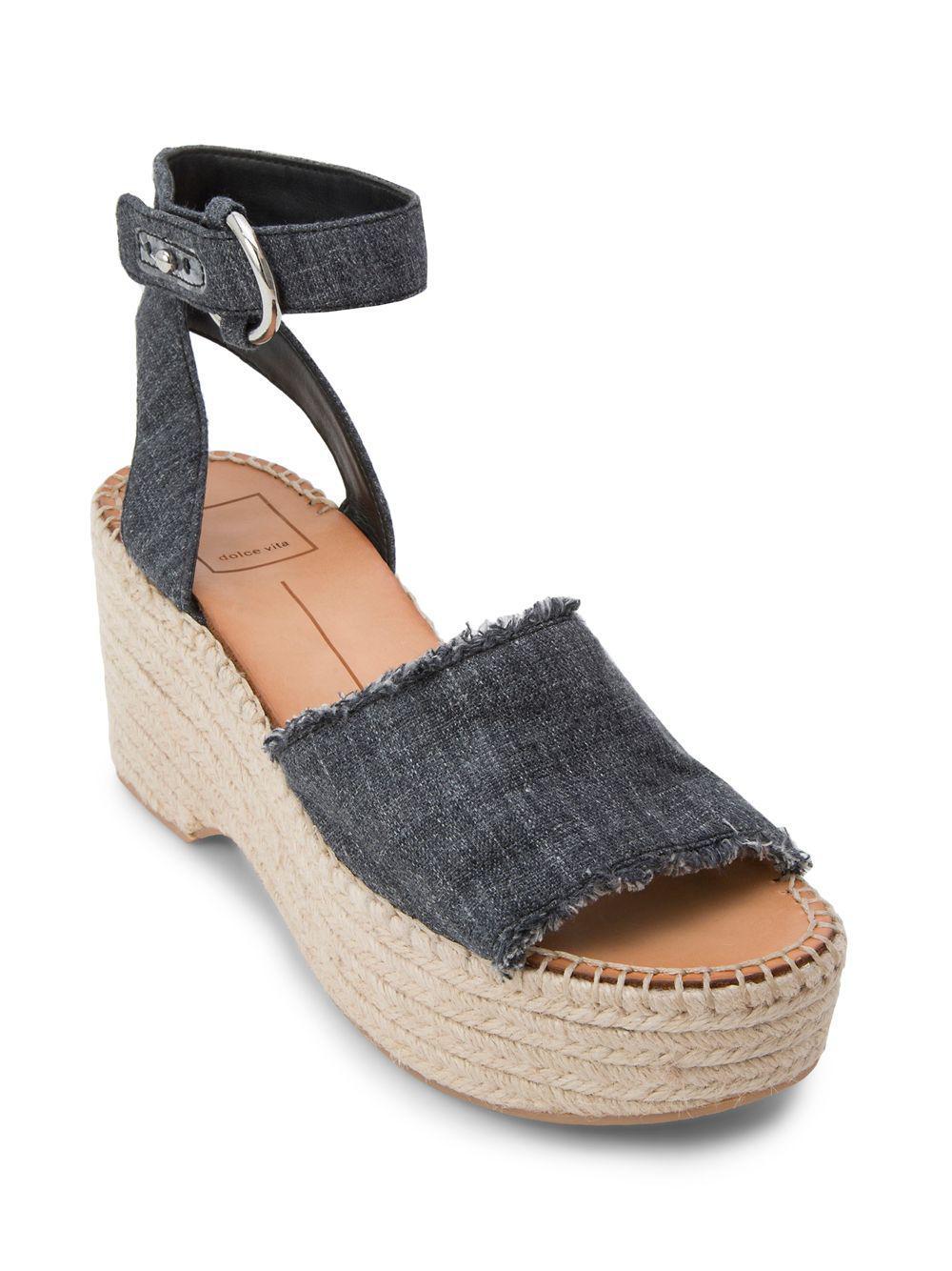 2157c31fac0 Dolce Vita - Blue Lesly Espadrille Sandals - Lyst