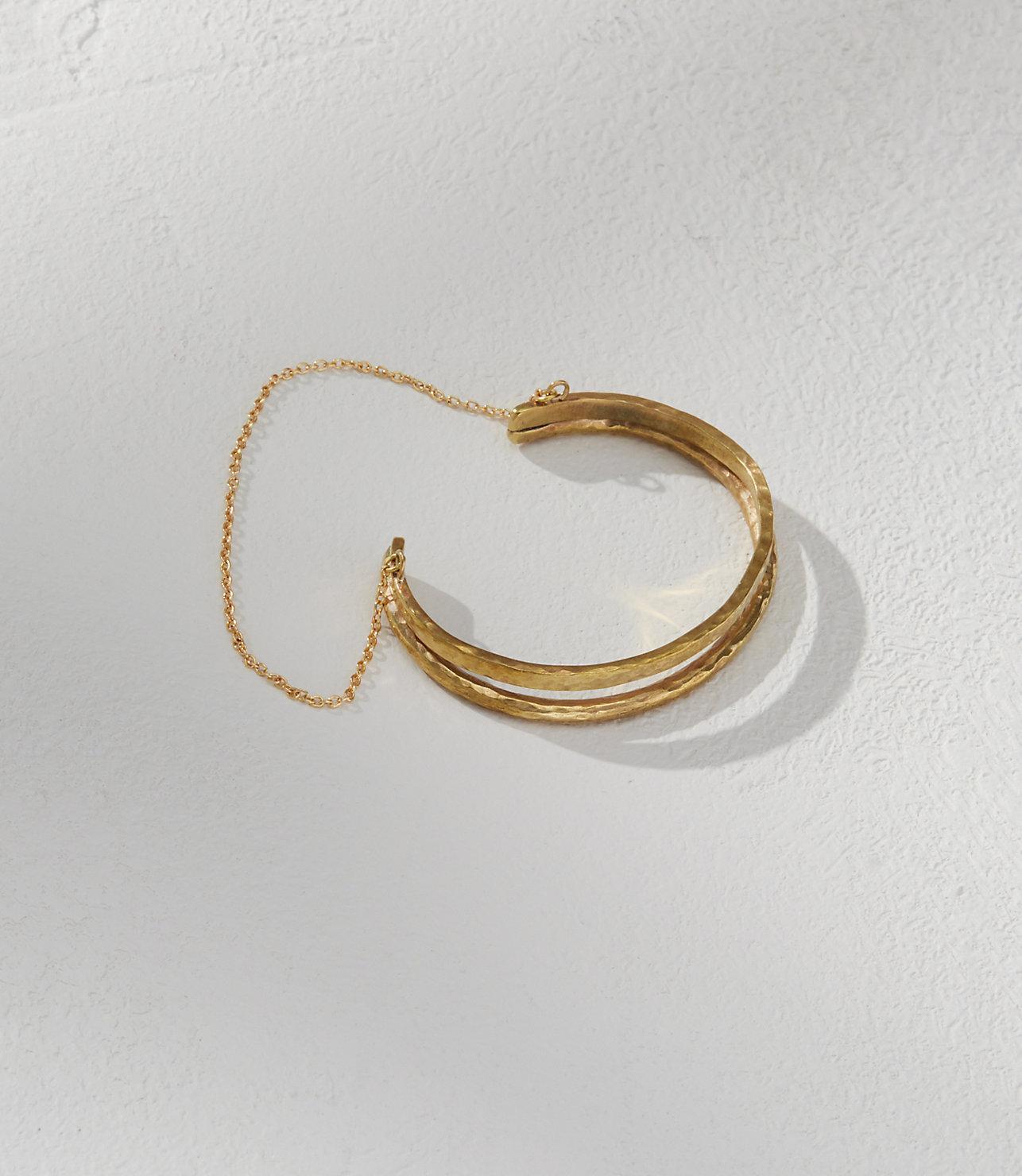 Soko Double Delicate Chain Bracelet S Brass UjOzDjzB9L