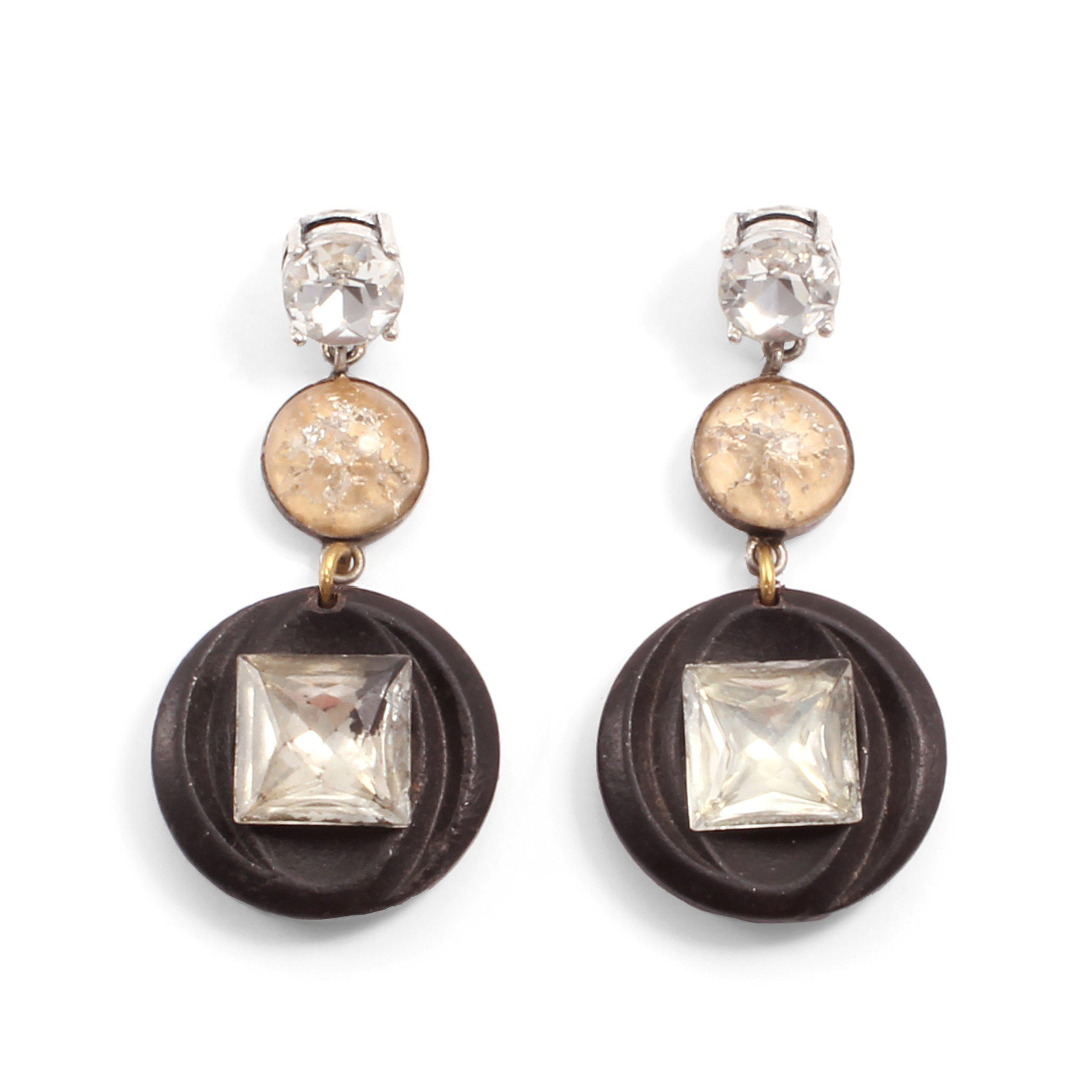 Will not vintage chocolate diamond earrings good topic