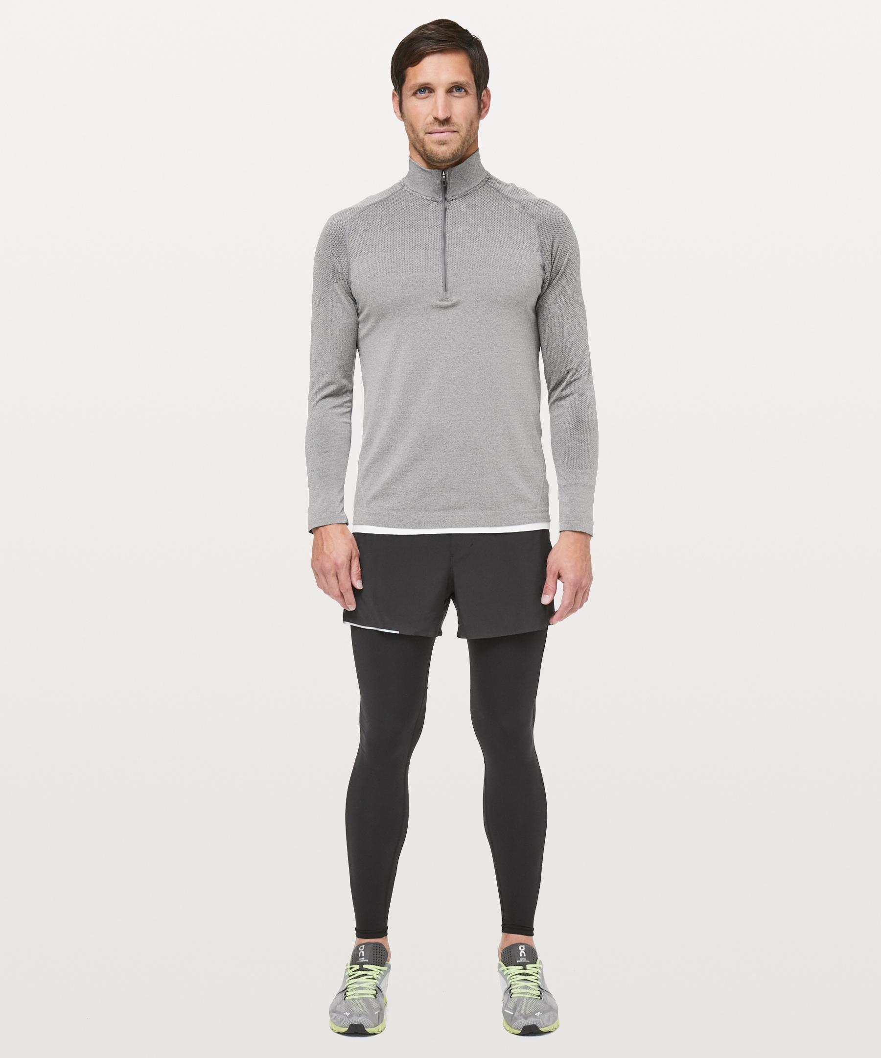 70a966ef37e3a lululemon athletica Surge Light Tight in Black for Men - Lyst