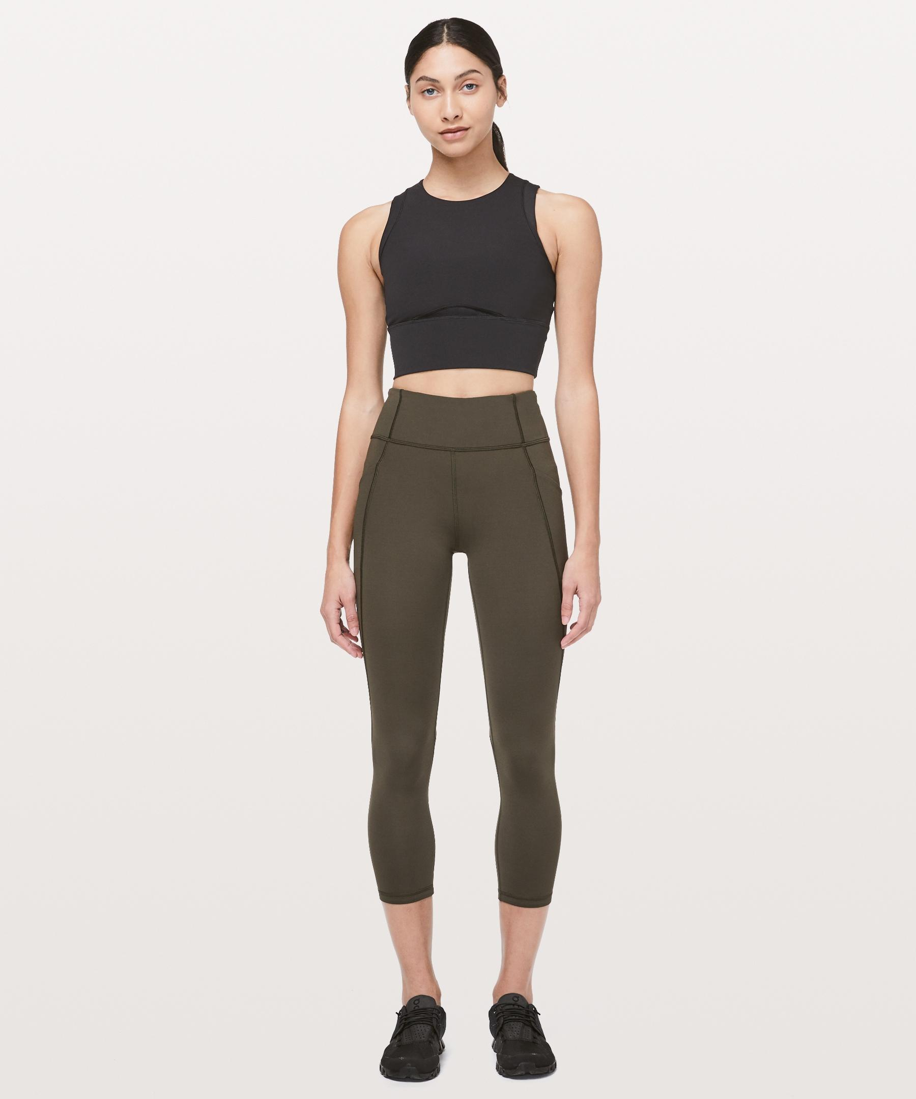 7816fc421 lululemon athletica Time To Sweat Crop *23