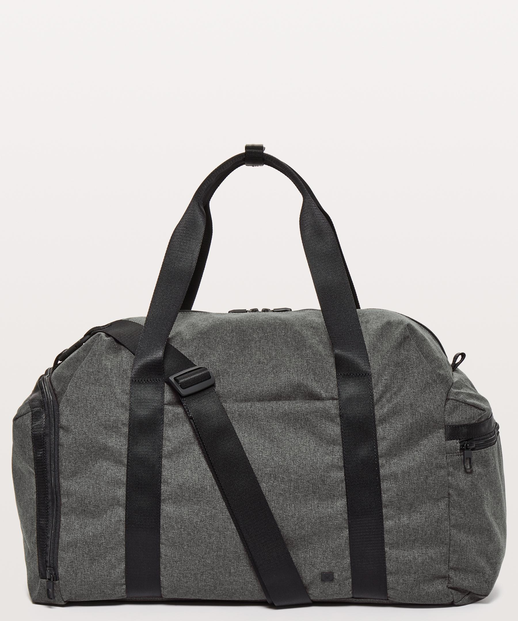 fd896e11bedb Lyst - lululemon athletica Command The Day Duffel  37l in Gray for Men