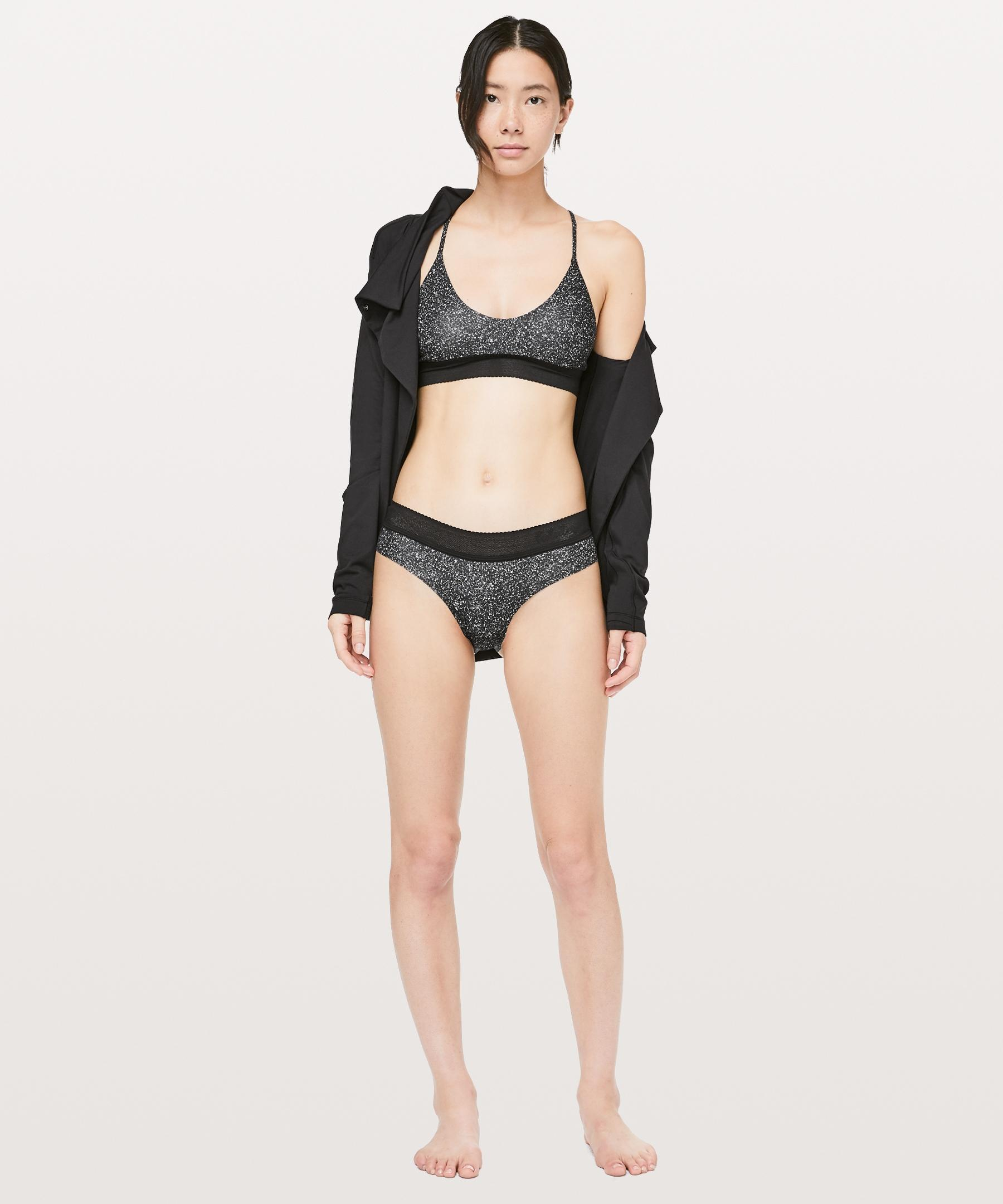 f2efb102a7528 Lyst - lululemon athletica Ever Essentials Bralette in Black