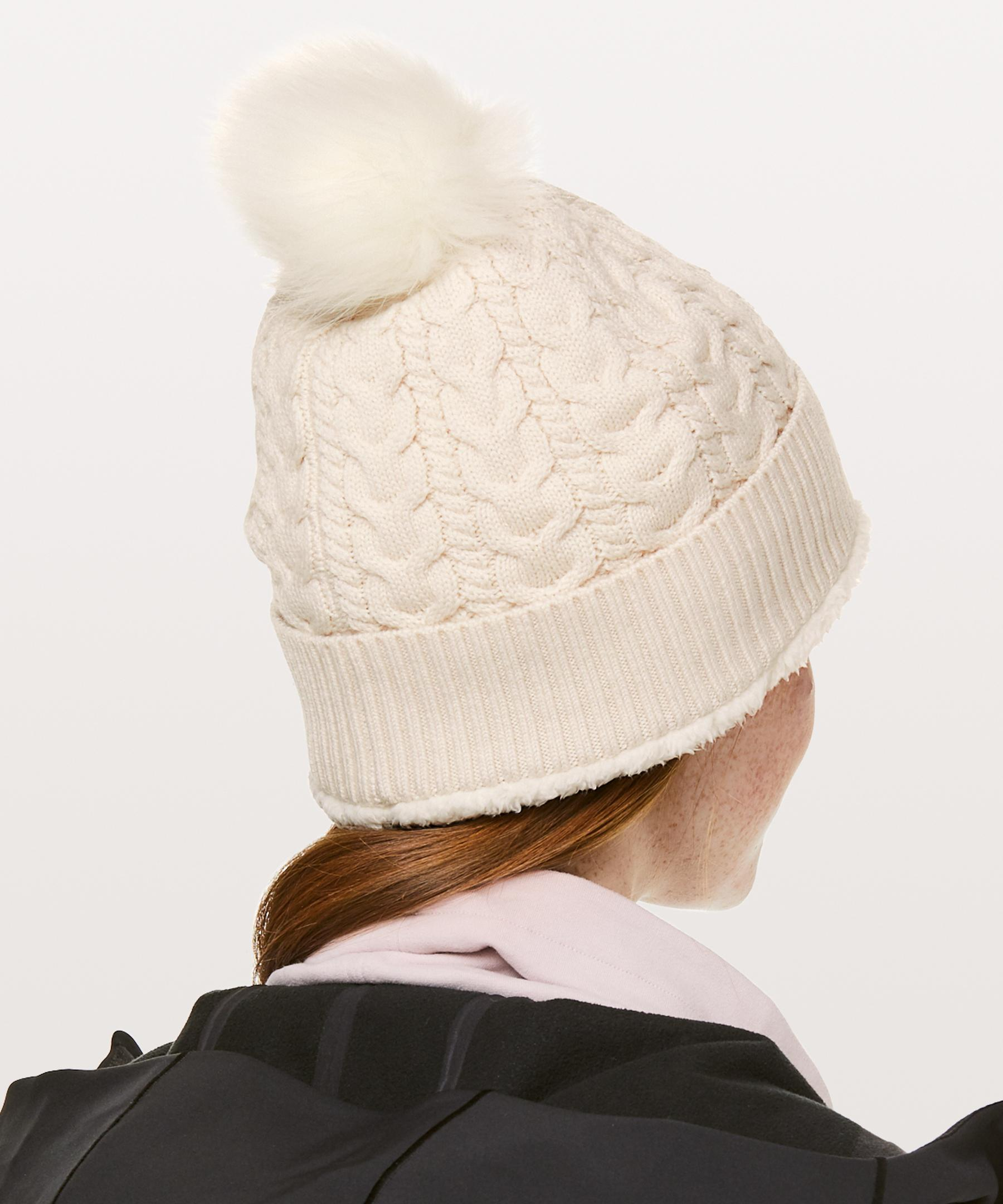 Lyst - lululemon athletica Show Me The Sherpa Beanie 7246920742e8