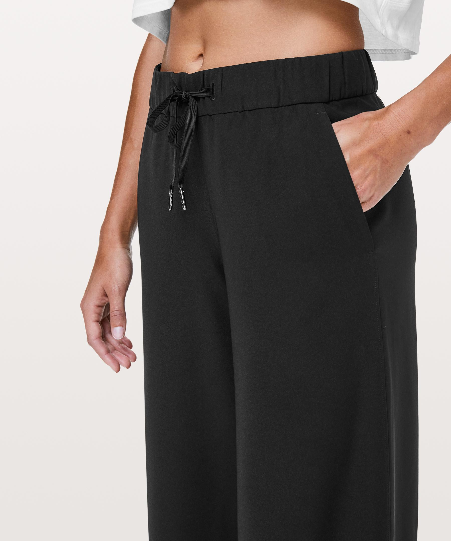 40436e55a4 Lyst - lululemon athletica On The Fly Pant *wide Leg 31