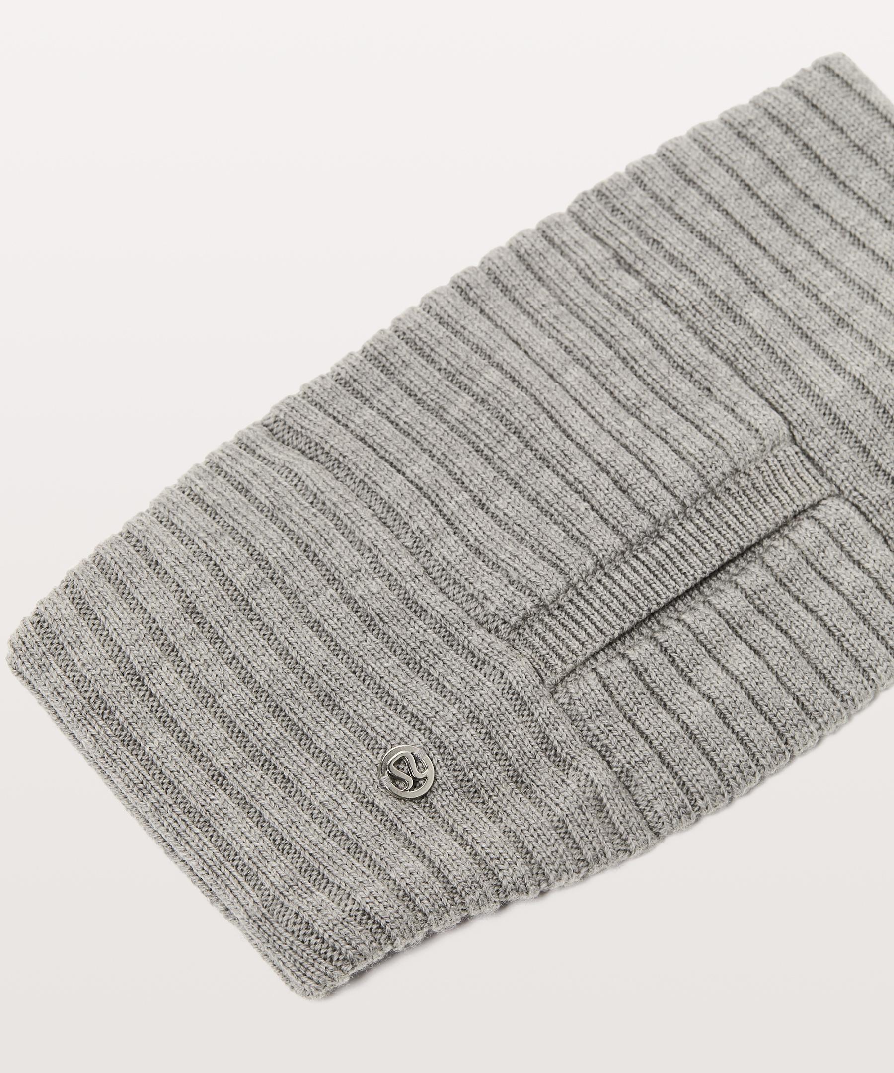 fff2b7cf9bb lululemon athletica Wool Be Cozy Ear Warmer in Gray - Lyst