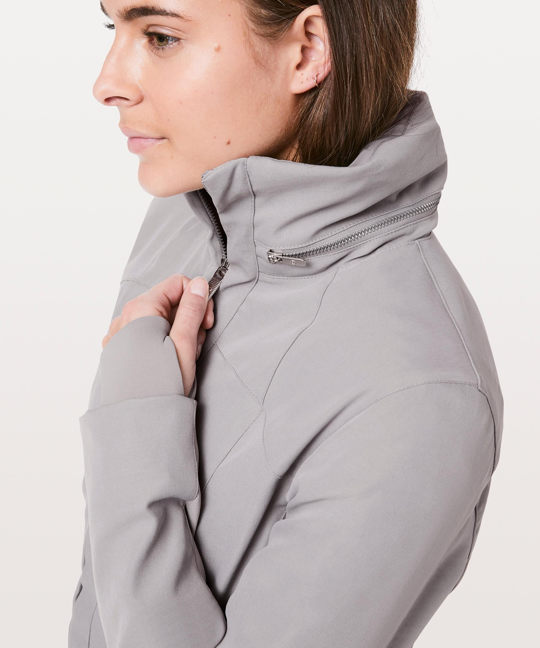 c3091241a2 Lyst - lululemon athletica Like A Glove Jacket in Gray