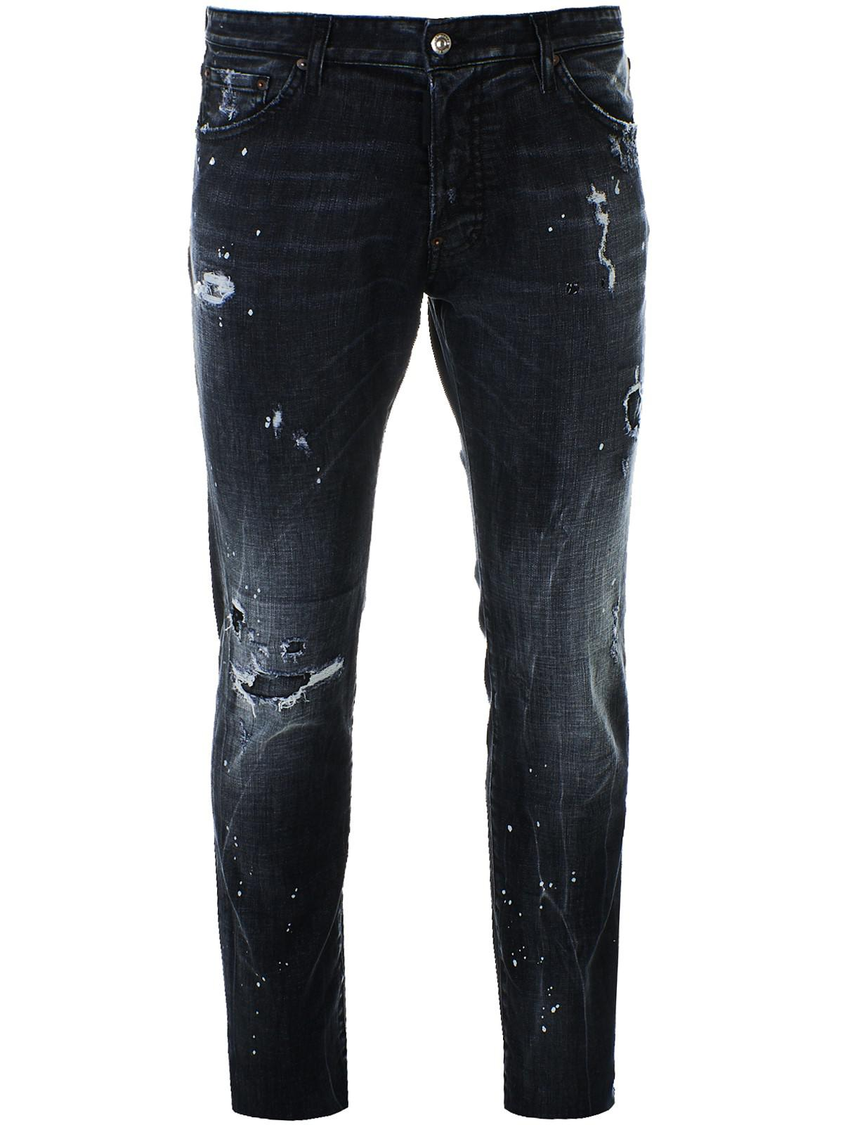 1d20810a406 Lyst - DSquared² Dark Grey Cool Guy Jeans in Gray for Men