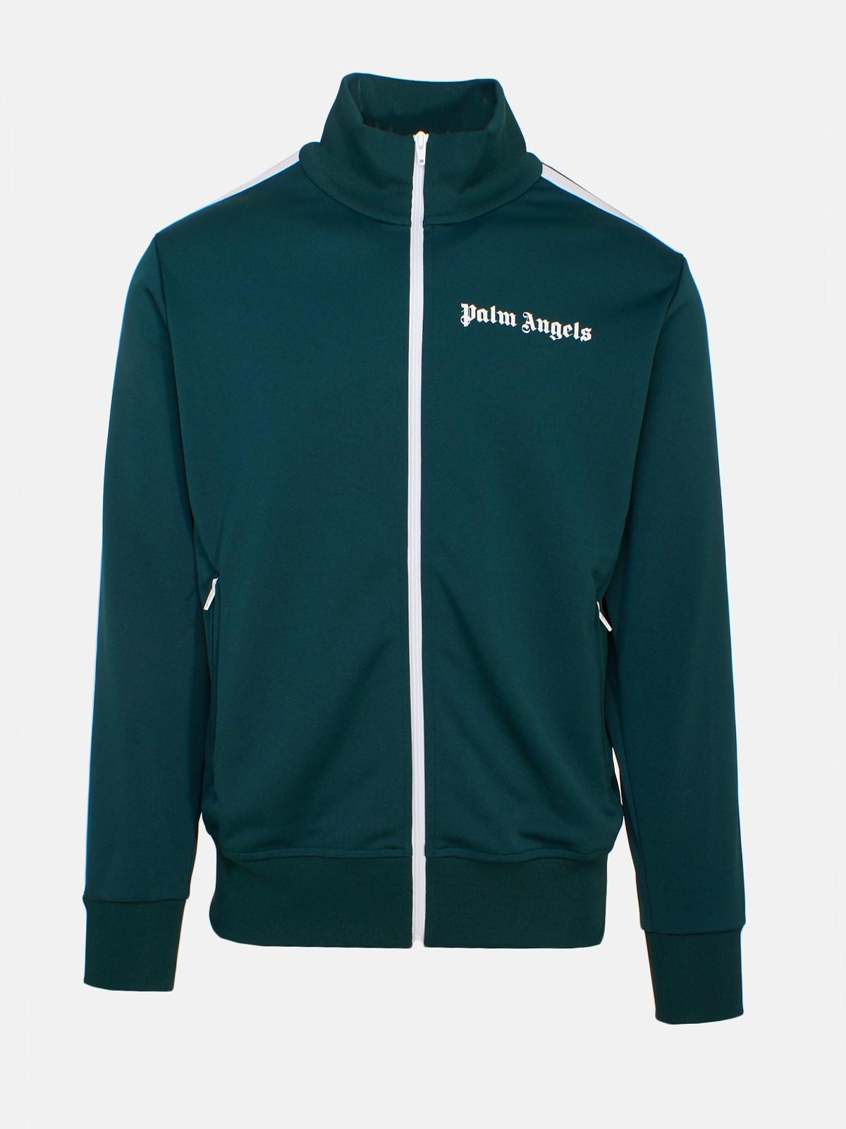 81b3d392f1e01 Palm Angels - Green Classic Track Jacket for Men - Lyst. View fullscreen