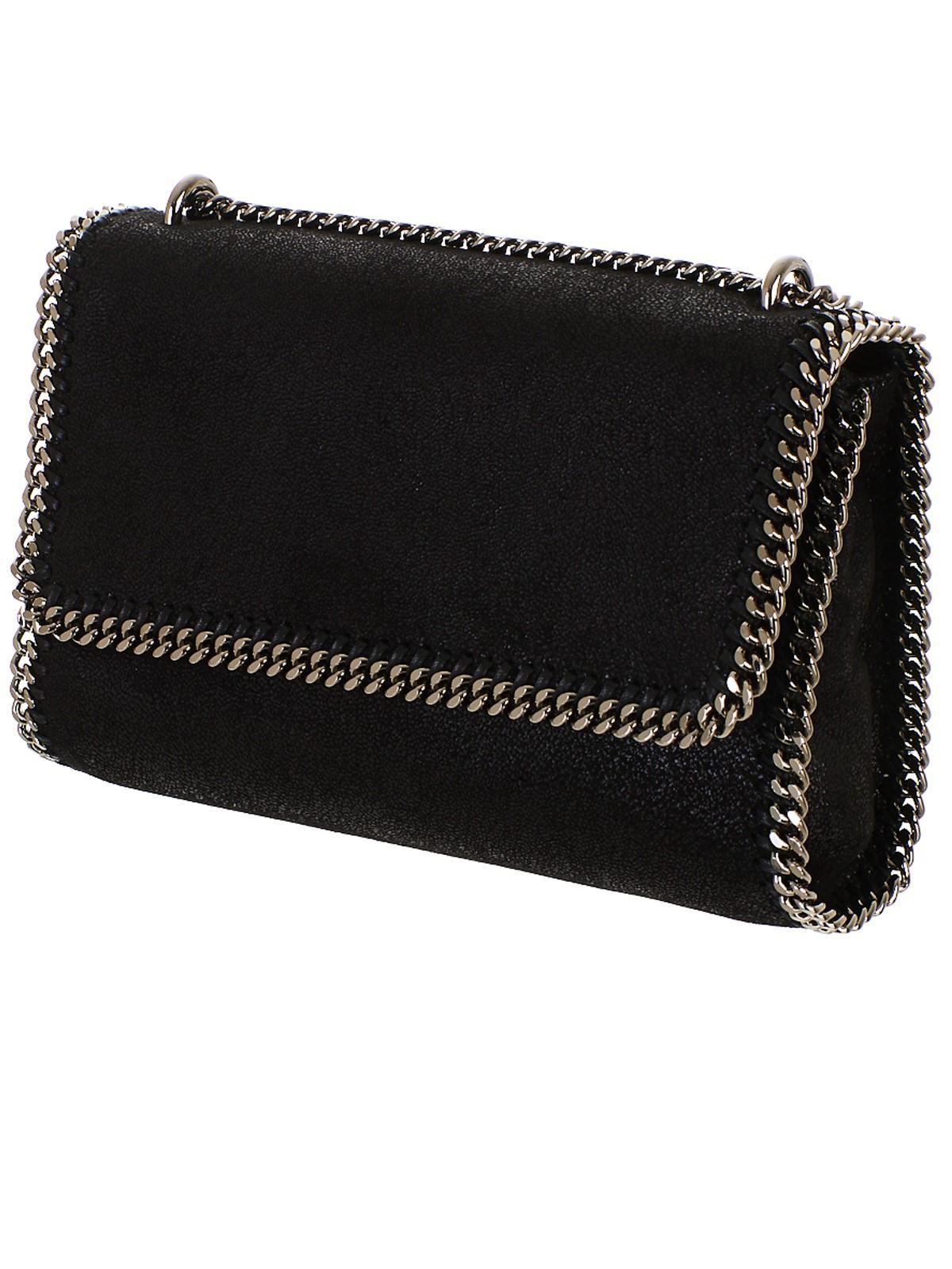 d0dc391d27 Lyst - Stella McCartney Black Falabella Bag in Black