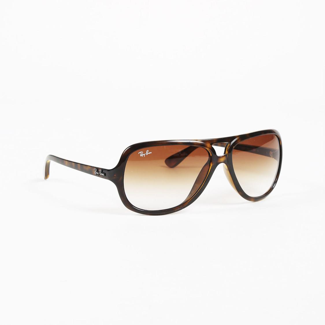 1b326e7bfe ... sweden ray ban. womens brown shield rb4162 sunglasses 93bdd 28c53