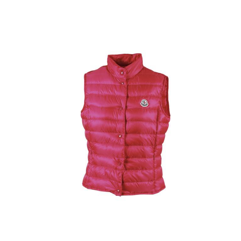 ed1a4e99c Lyst - Moncler Pink Nylon Down