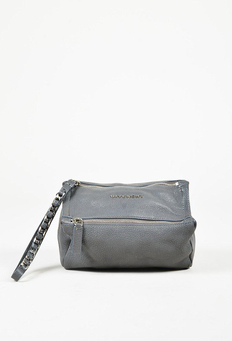 094797d047c Givenchy Grey Goatskin Leather