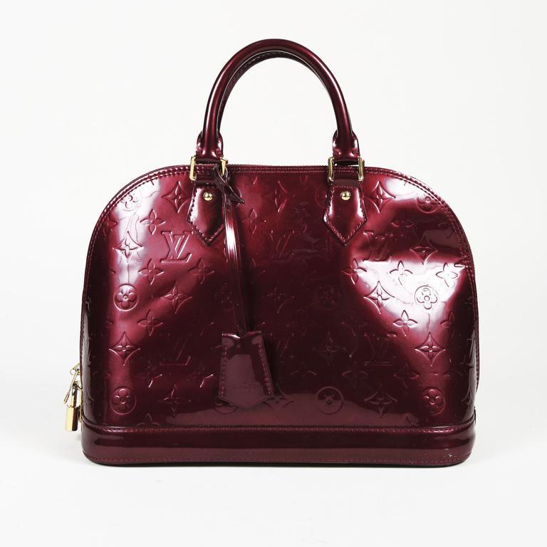 5b7a112b66f7 Louis Vuitton Monogram Vernis Leather