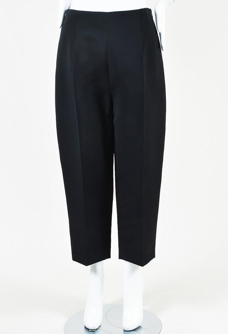 Cheap Sale Wholesale Price Céline Wool-Blend High-Rise Pants Cost Cheap Online eNTwONZ