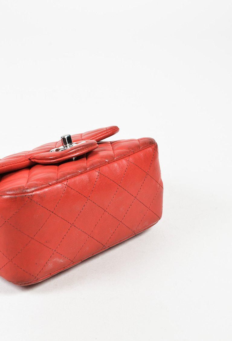 05f008635c7c Chanel Timeless Leather Crossbody Bag in Red - Lyst