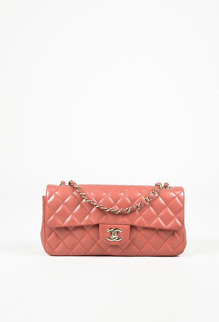 8e323b9f53c2 Chanel Pink Quilted Lambskin Leather