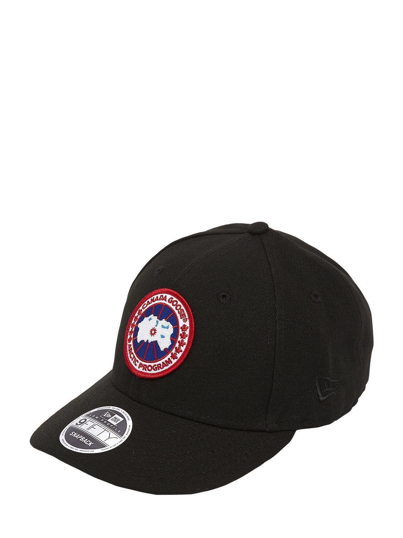 03d66bcd7ecbf Canada Goose Core Cap New Era 9fifty Hat in Black for Men - Lyst