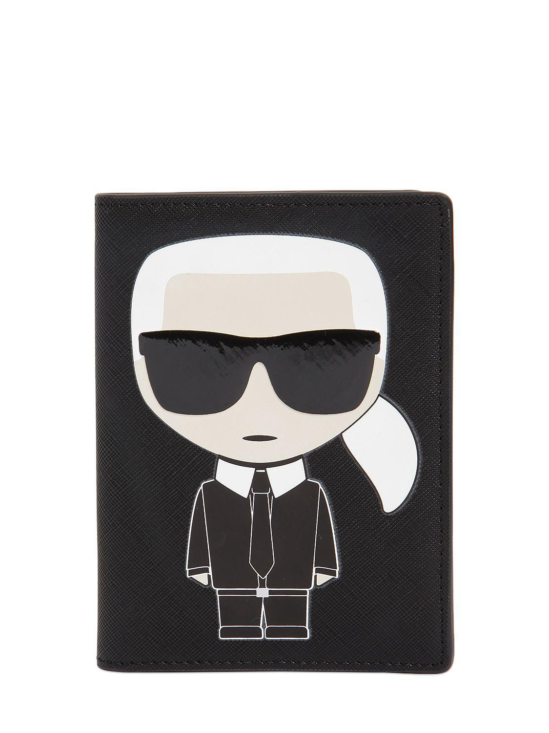K/Ikonik Travel Wallet Karl Lagerfeld
