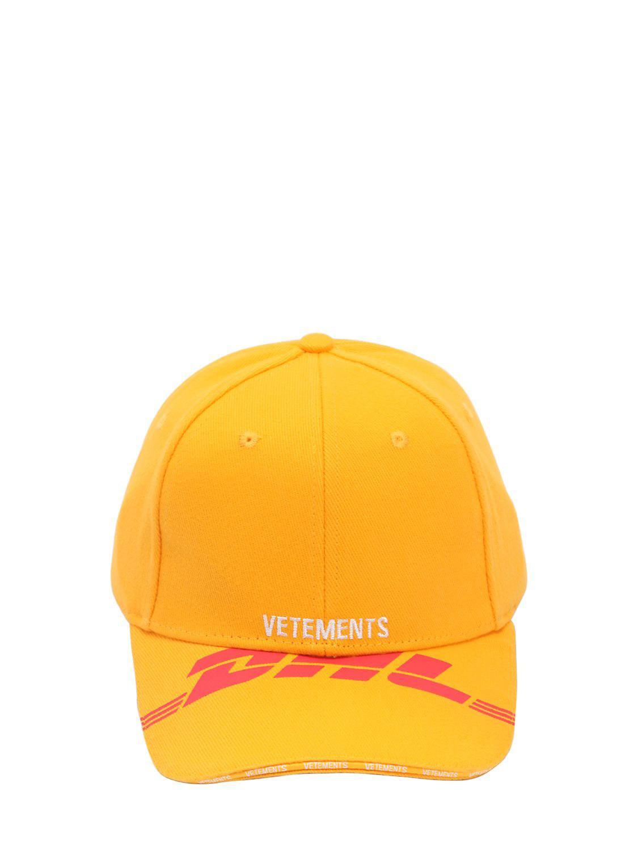 Dhl Logo Baseball Cap Vetements CpXJKalQJ