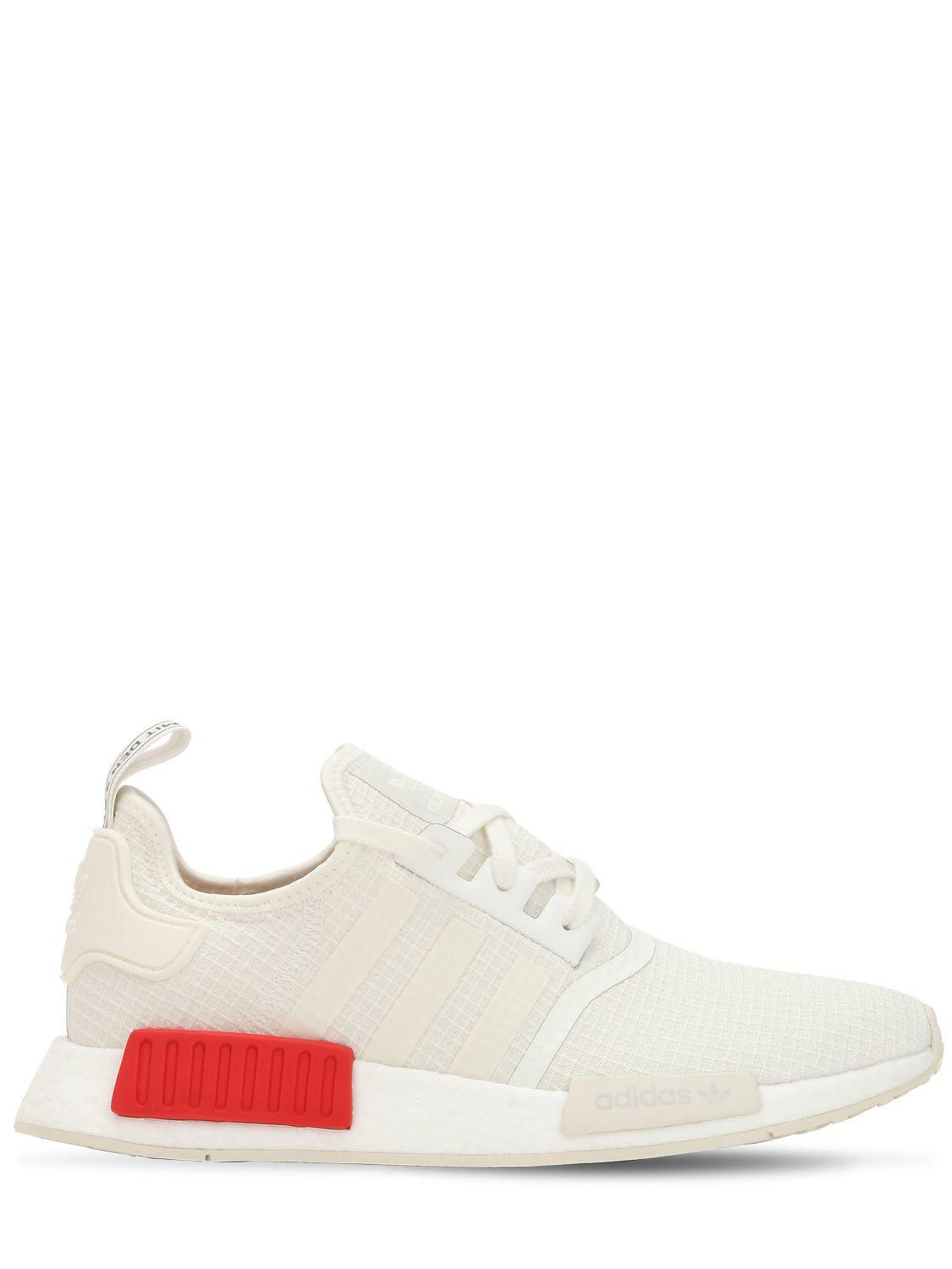 Adidas Originals Nmd R1 Sneakers in White for Men - Lyst 1905509f2