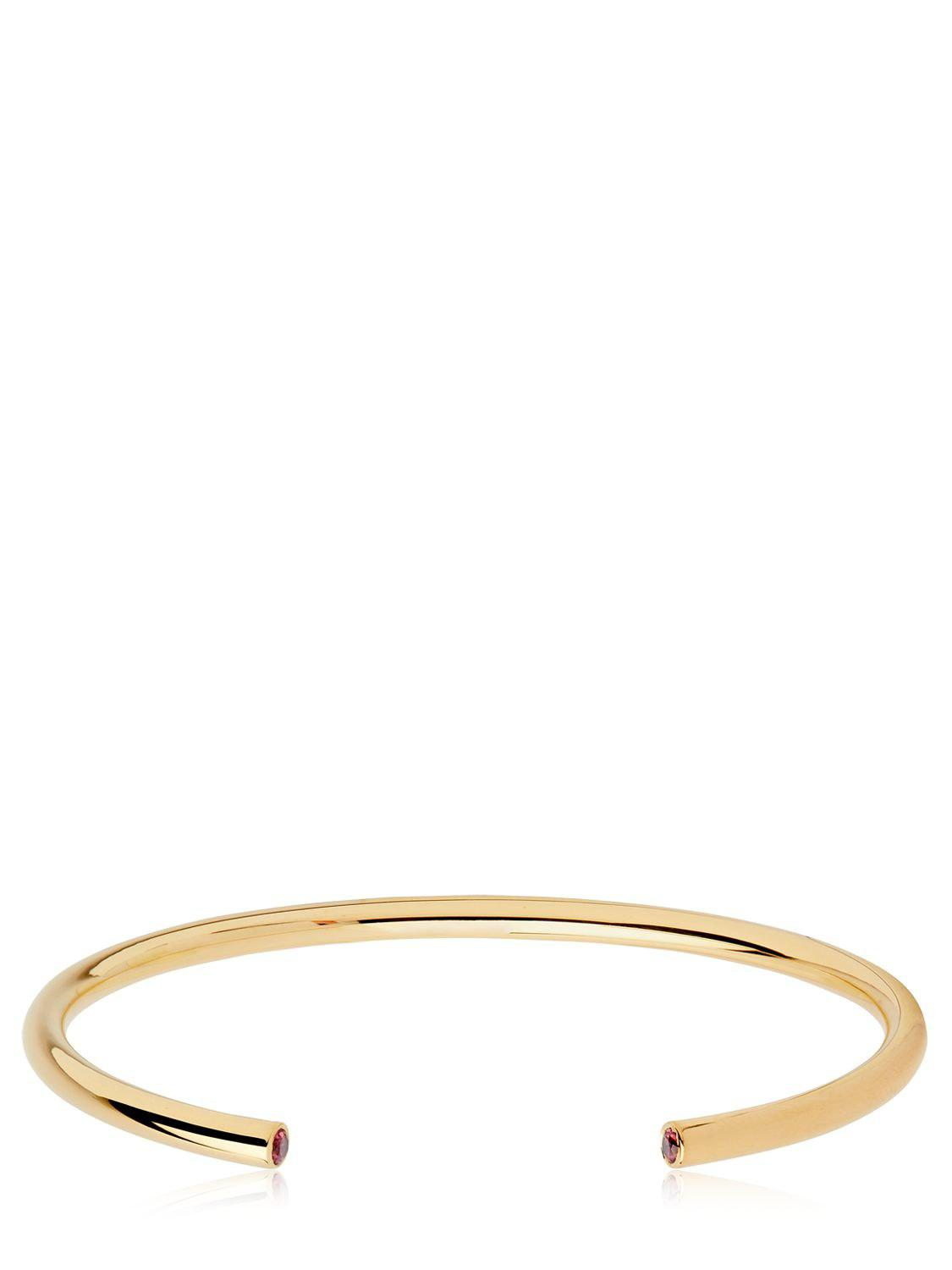 Maria Black Serendipity Nude bangle - Metallic HvIDOf