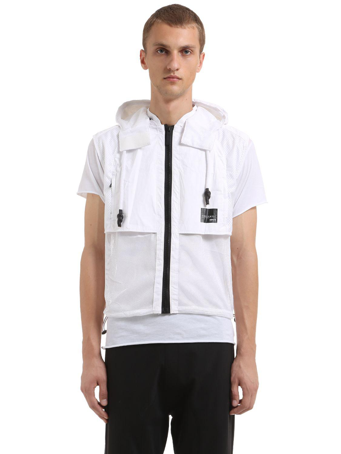 Lyst - adidas Originals Eqt Convertible Backpack in White for Men ae1145369f7a6