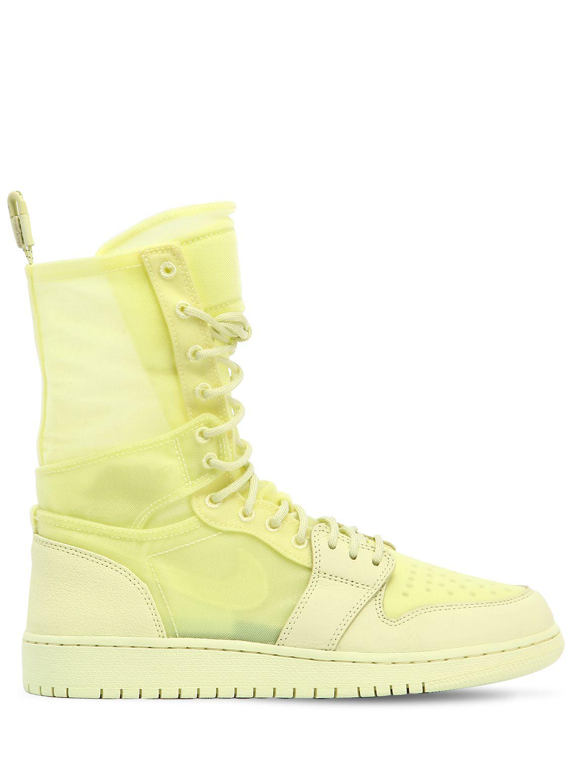 in stock 59a6c 409c8 Nike Air Jordan 1 Explorer Xx Sneaker Boots in Yellow - Lyst