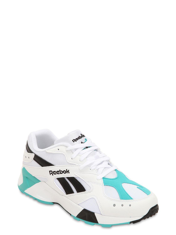 b96bda3f121 Lyst - Reebok Aztrek Sneakers in White for Men - Save 64%