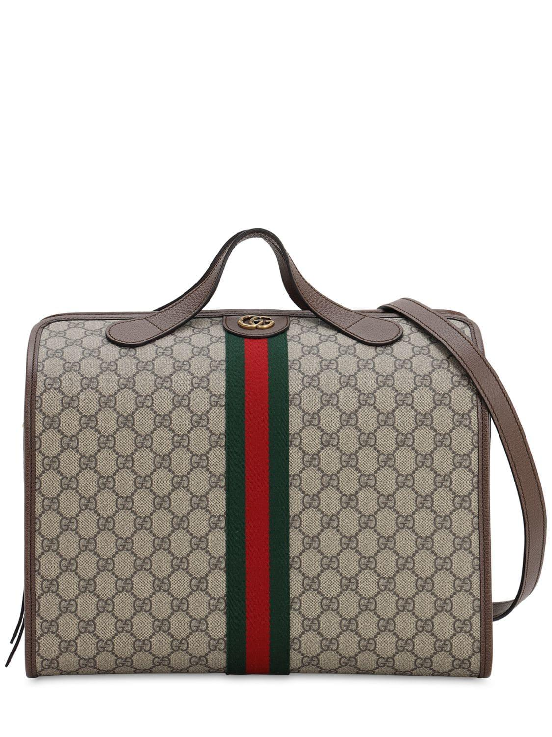 5622c2823625 Lyst - Gucci Gg Supreme Duffle Bag for Men