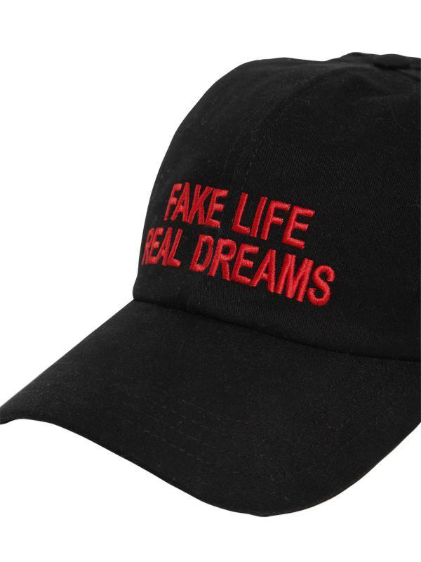 1a2a08eb9cf Lyst - Joshua Sanders Fake Life Real Dreams Canvas Hat in Black for Men