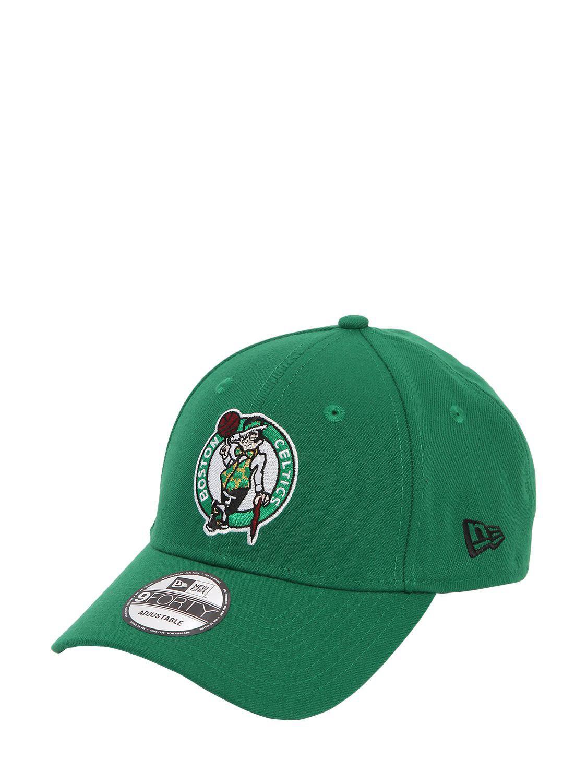 Lyst - KTZ Nba Boston Celtics Baseball Hat in Green 1795ca031a1b