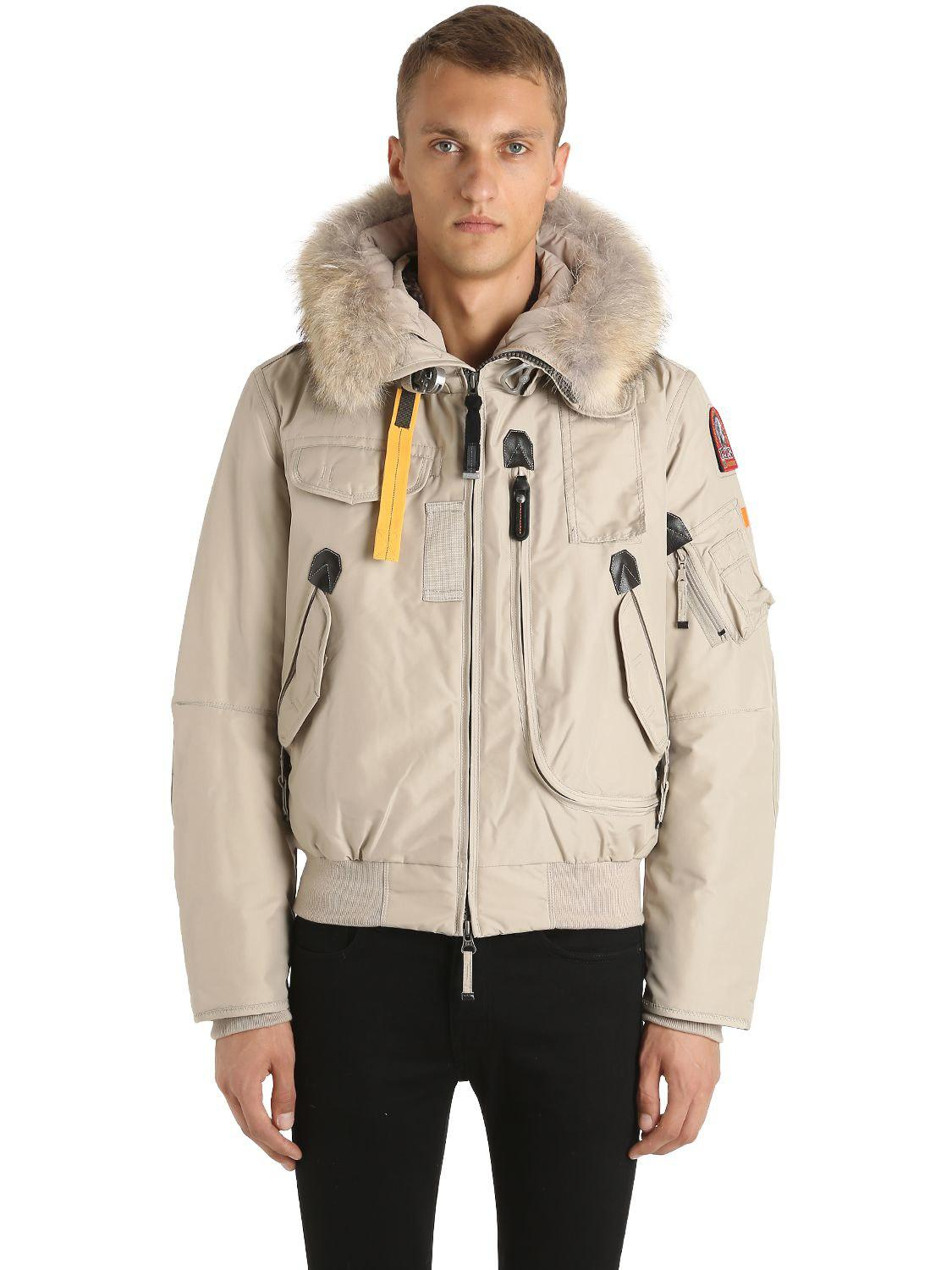 parajumpers men's gobi down bomber jacket