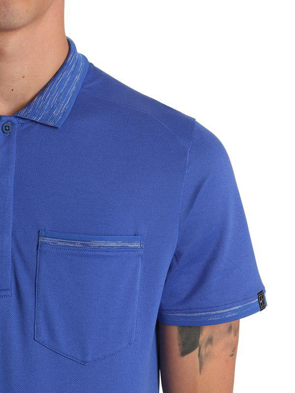 2d0c399a Nike Court X Rf Knit Polo Shirt in Blue for Men - Lyst